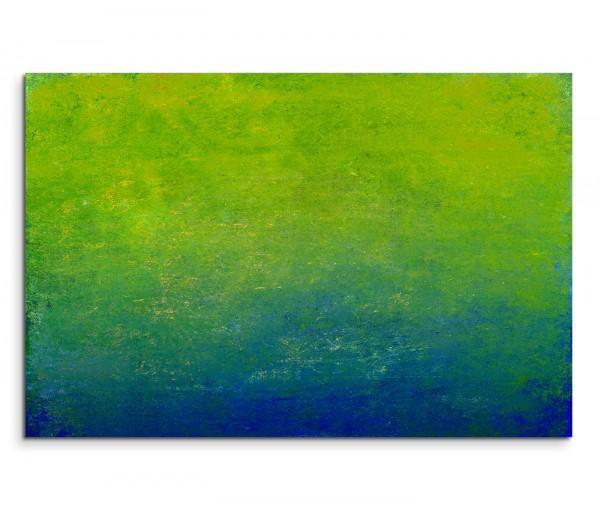 120x80cm Wandbild Hintergrund grün blau