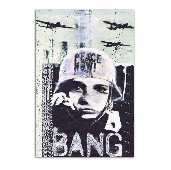 Peace now, Art-Poster, 61x91cm