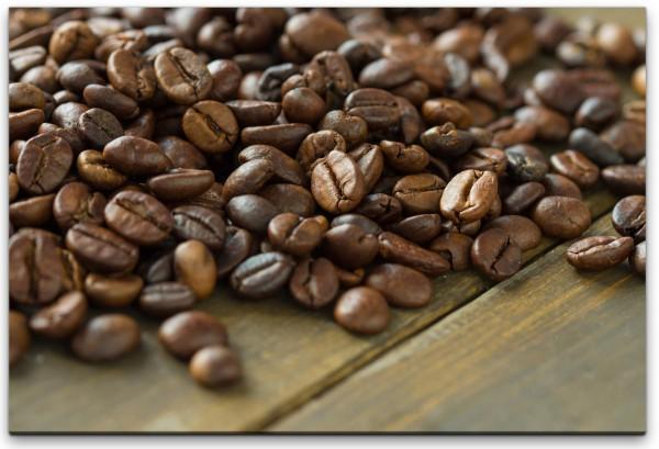Kaffeebohnen Wandbild in verschiedenen Größen