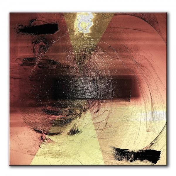 Tunnelblick, abstrakt, 60x60cm