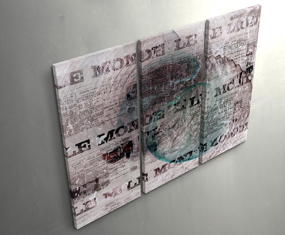 Mixed Emotions-sinusale tipo Muro Muro Muro Immagine Su Tela Enigma serie 911e9c