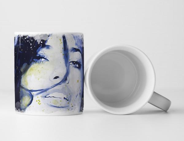 Adriana Lima Tasse als Geschenk, Design Sinus Art