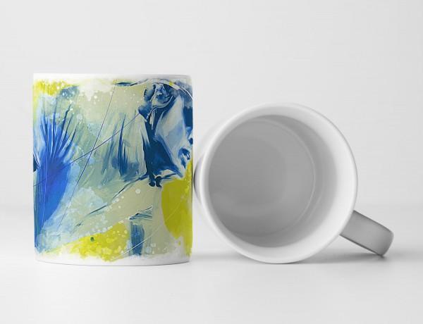 Radsport IV Tasse als Geschenk, Design Sinus Art