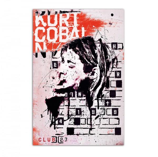 Kurt Cobain-Club27, Art-Poster, 61x91cm
