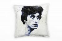 Al Pacino Deko Kissen Bezug 40x40cm für Couch Sofa Lounge Zierkissen