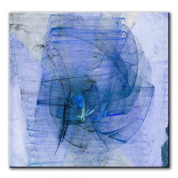 Im Herzen des Feuers, abstrakt, 60x60cm