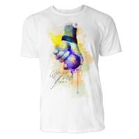Boule Sinus Art ® T-Shirt Crewneck Tee with Frontartwork