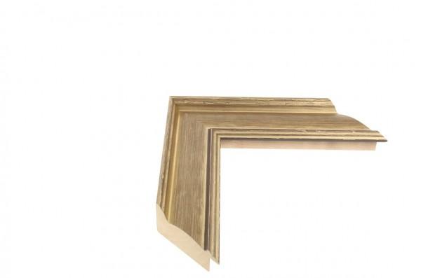 Echtholz Bilderrahmen FENICE - Gold