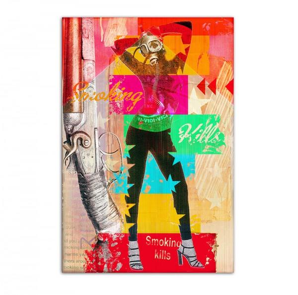 Smoking kills, Art-Poster, 61x91cm
