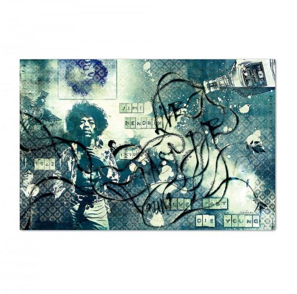 Jimi Hendrix2, Art-Poster, 61x91cm