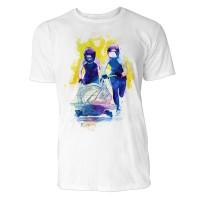 Bobsport frontal Sinus Art ® T-Shirt Crewneck Tee with Frontartwork