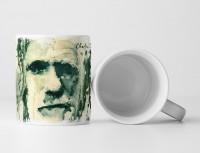Charles Darwin II Tasse als Geschenk,  Design Sinus Art