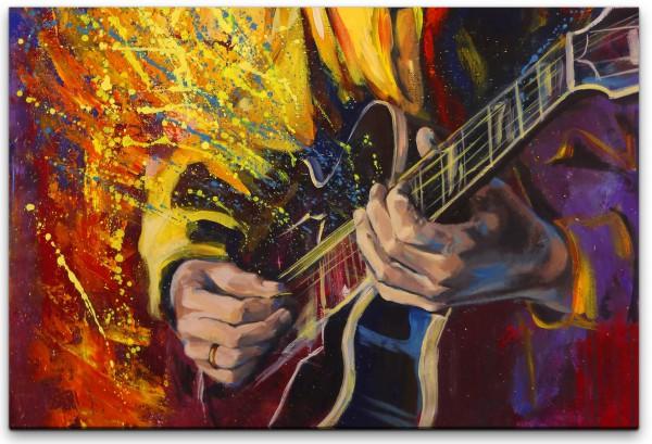 Musiker Abstrakt Wandbild in verschiedenen Größen