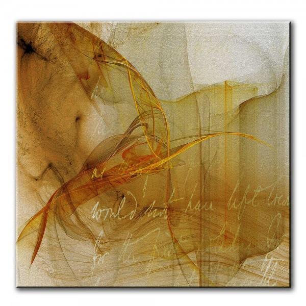 Freudensand, abstrakt, 60x60cm