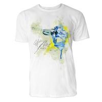 Biathlon Schütze Sinus Art ® T-Shirt Crewneck Tee with Frontartwork