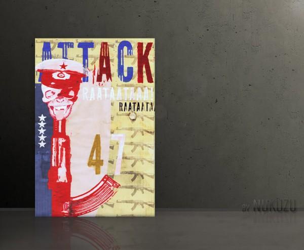 ATTACK 47 80x120cm