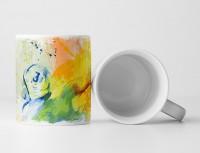 Wasserball I Tasse als Geschenk,  Design Sinus Art