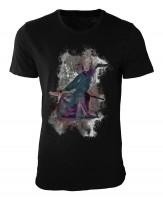 Schwertkunst Damen und Herren T-Shirt schwarz / black
