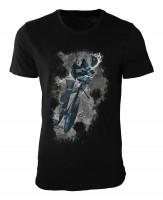 Radsport III Damen und Herren T-Shirt schwarz / black