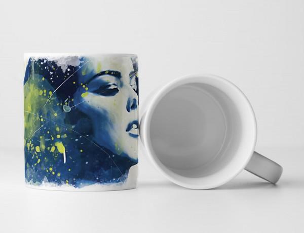 Adriana Lima III Tasse als Geschenk, Design Sinus Art