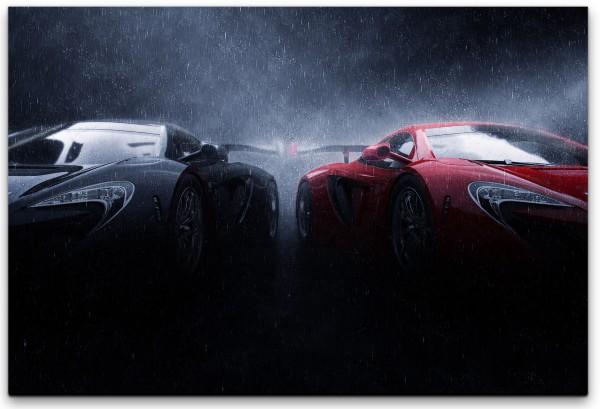 Autos Wandbild in verschiedenen Größen