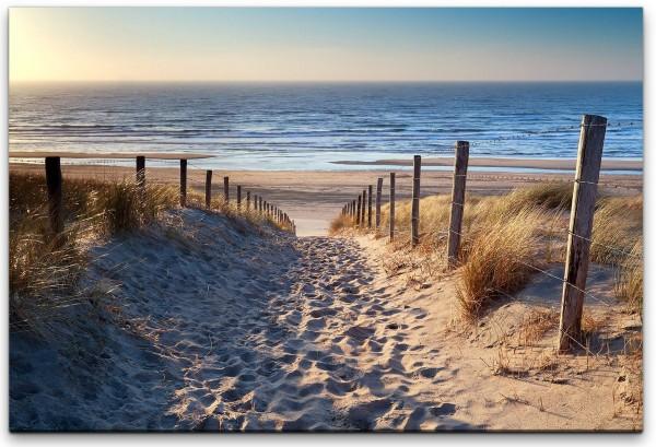 Niederlande Strand Wandbild in verschiedenen Größen