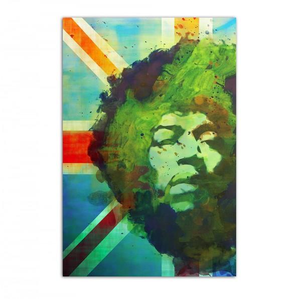 Jimi Hendrix England, Art-Poster, 61x91cm
