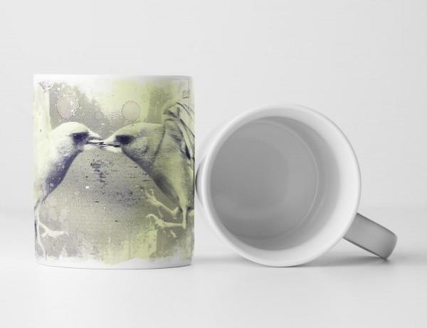 Birds I Tasse als Geschenk, Design Sinus Art