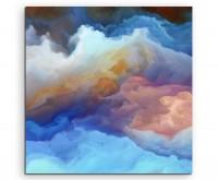 Digitales Gemälde – Wallende Wolken auf Leinwand exklusives Wandbild moderne Fotografie für ihre Wan