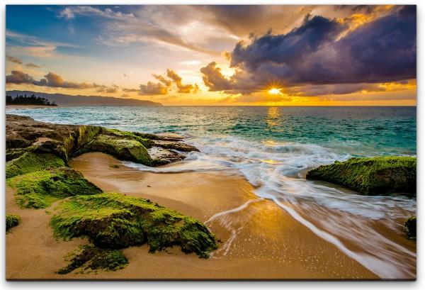 Hawaii Küstenlandschaft Wandbild in verschiedenen Größen