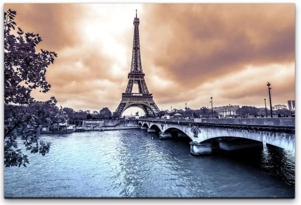 Eiffelturm in Paris Wandbild in verschiedenen Größen