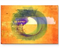No Leaf Clover - Sinus Art Wandbild auf Leinwand ENIGMA SERIE