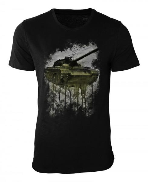Tank Damen und Herren T-Shirt schwarz / black