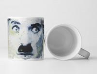 Charlie Chaplin Tasse als Geschenk,  Design Sinus Art