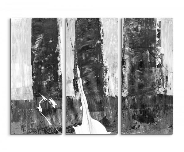 130x90cm Wandbild Abstrakt 501 -3x90x40cm