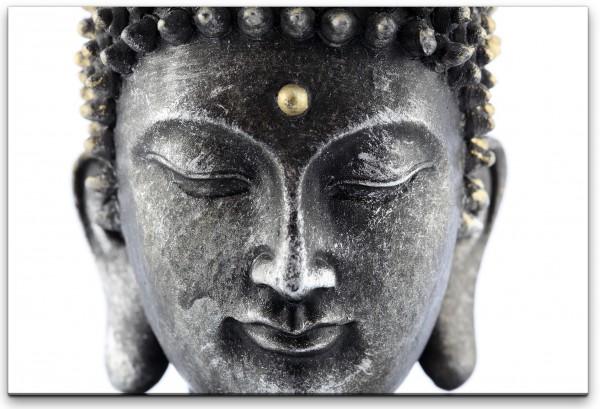Buddhakopf Wandbild in verschiedenen Größen