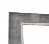 Klassisch Afrikanische Rahmenleiste Lille Grau
