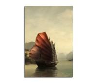 Old China Fantasy Art 90x60cm