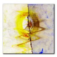 Zwei Seiten, abstrakt, 60x60cm