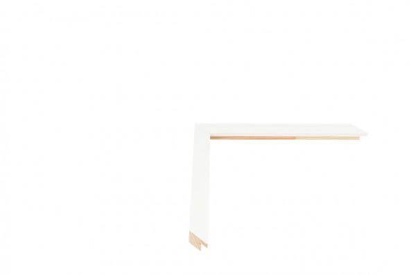 Echtholz Bilderrahmen TRIBECA - White - Small square