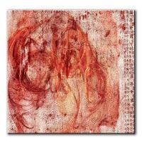 Seelenaufruhr, abstrakt, 60x60cm