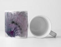 Tasse Geschenk violett-graue Färbung