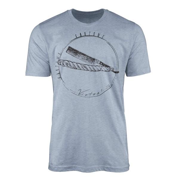 Vintage Herren T-Shirt Rasierklinge