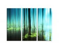 130x90cm Bäume im Wasser geheimnisvoll