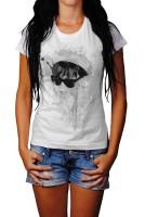 Audrey Hepburn I Herren und Damen T-Shirt BLACK-WHITE