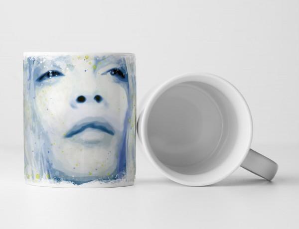 Cara Delevingne Tasse als Geschenk, Design Sinus Art