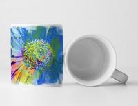 Blume IX Tasse als Geschenk,  Design Sinus Art