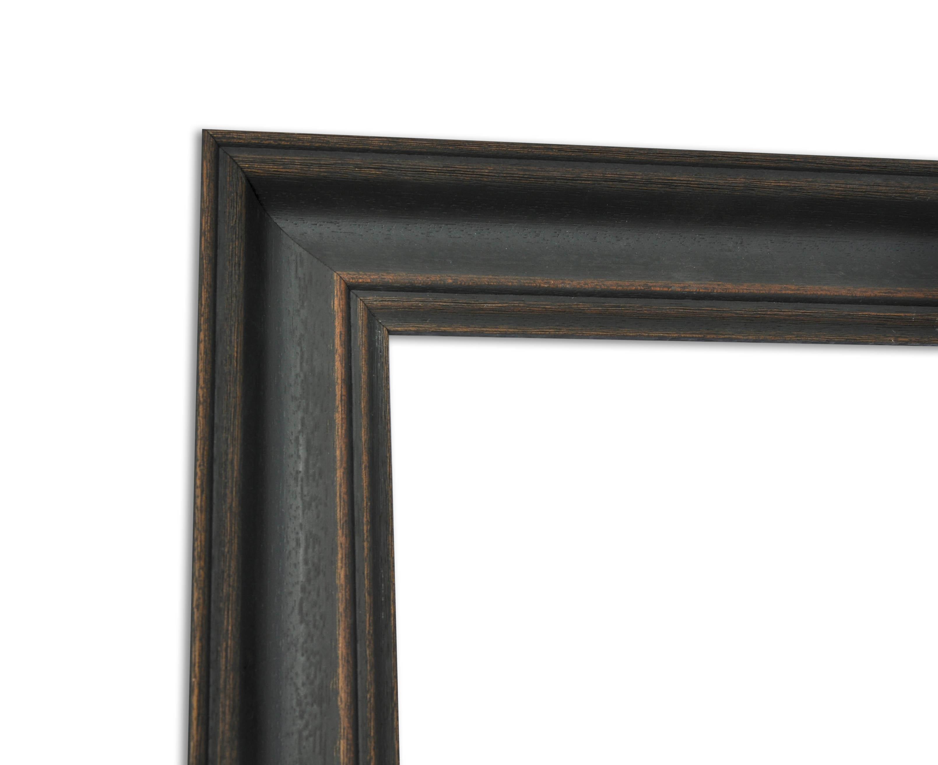 vintage shabby chic bilderrahmen schwarz matt sinus art einzigartige designs geschenke. Black Bedroom Furniture Sets. Home Design Ideas