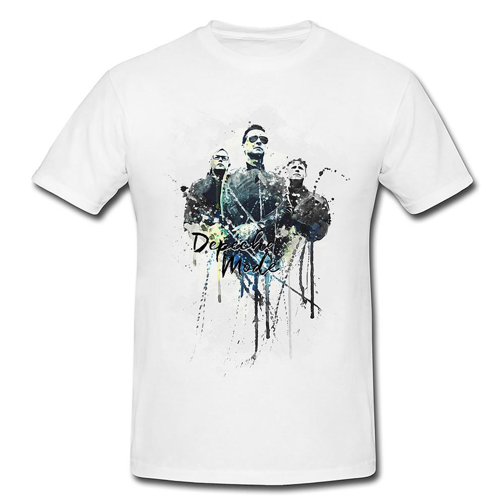 Depeche Mode Premium Herren und Damen T-Shirt Motiv aus Paul Sinus ...