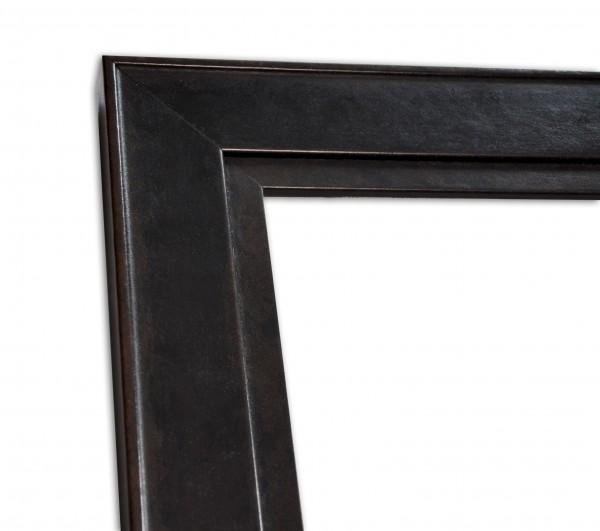 Echtholz Bilderrahmen ANGUS - Flat - Black